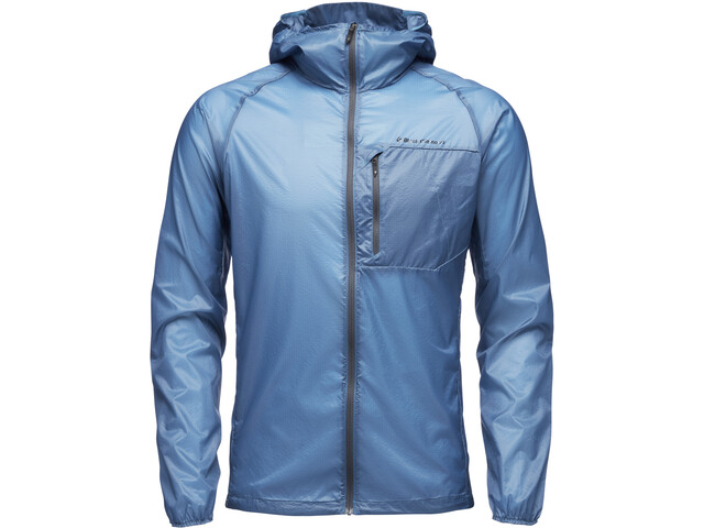 Black Diamond Distance Wind Shell Jacket Herr astral blue